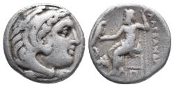 Ancient Coins - Kingdom of Macedon. Alexander III, The Great. drachm. 336-323 BC 4gr 16.5mm
