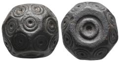 Ancient Coins - Byzantine Bronze weight 6th-8th century A.D. 28.9gr, 18.8×15.3mm
