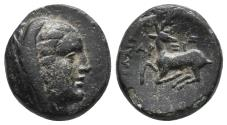 Ancient Coins - IONIA. Ephesos as Arsinoeia. Ae (Circa 290-281 BC). 3.7gr, 15.9mm