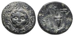 Ancient Coins - Kingdom of Macedon. Philip III. AE 16. 288-277 BC 4.2gr, 14.8mm