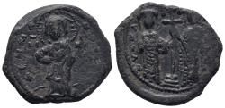 Ancient Coins - BYZANTINE EMPIRE. Constantine X. 1059-1067. Æ follis 10.3gr 25.4mm