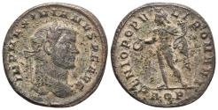 Ancient Coins - Maximianus. Follis. Ticinum AD 286-305 Ae 8.9gr 25.9mm