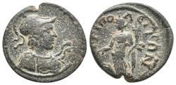 Ancient Coins - Phrygia, Hierapolis Æ16. Autonomous Issue. Circa 2nd Century AD. 3,7gr 18.9mm