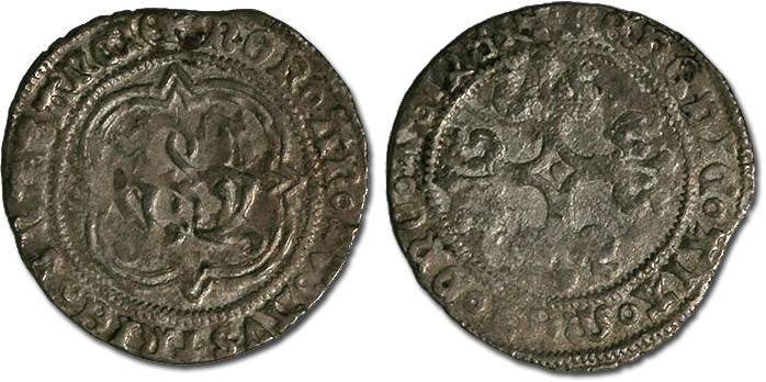 Ancient Coins - Brabant - Philip the Fair, 1482-1492 - Gros 1484 - VG