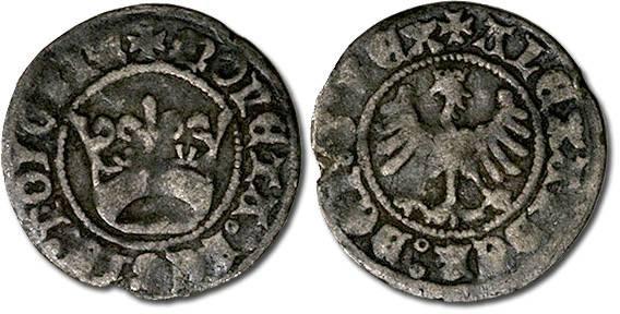 Ancient Coins - Poland - Alexander Jagiellonczyk (1501-1506) - Polgrosz, VG