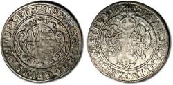 World Coins - Saxony - 1/24 Thaler (Groschen) 1623 - F+