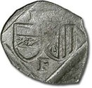 World Coins - Austria, Linz (Oberösterreich), Ferdinand I, 1521-1564 - Uniface Pfennig 153? - VF, cleaned
