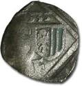 World Coins - Austria, Linz (Oberösterreich), Ferdinand I, 1521-1564 - Uniface Pfennig 1535 - VG, cleaned