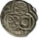World Coins - Salzburg - 2 Pfennig 1590, uniface Zweier - F+