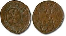 World Coins - Erfurt - 6 Scherf 1621 - VF