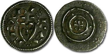 Ancient Coins - Hungary - Bela II, 1131-1141 - Denar - VF