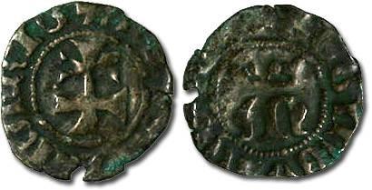 Ancient Coins - Hungary - Maria, 1385-1395 - Denar - VG