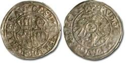 World Coins - Friedburg - 1/2 Batzen 1592 - F+