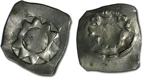 World Coins - Austria - Ottokar II, 1251-1276 - Pfennig, Vienna mint - crude VF