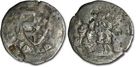 World Coins - Hungary - Karl Robert, 1307-1342 - Denar (MM: C-?) - VG