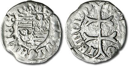 Ancient Coins - Hungary - Husz. 576 - Denar (MM: ?), VG+