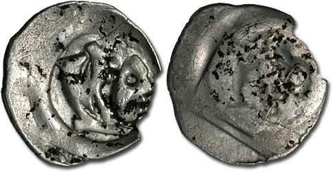 Ancient Coins - Austria - Albrecht II, 1330-1358 - Pfennig, Vienna mint - crude F
