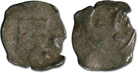 Ancient Coins - Austria - Albrecht II, 1330-1358 - Imitation Halbling - crude Fair
