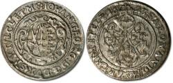 World Coins - Saxony - 1/24 Thaler (Groschen) 1623 - VF