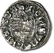 World Coins - Hungary - Husz. 576 - Denar (MM: trilobe), VG