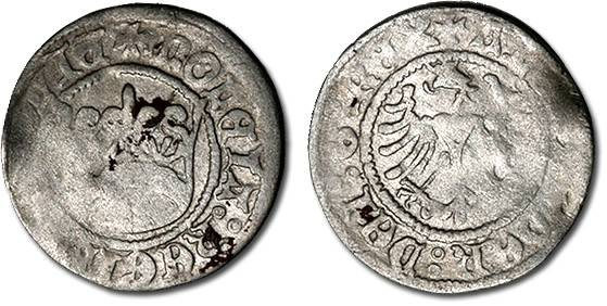 World Coins - Poland - Alexander Jagiellonczyk (1501-1506) - Polgrosz, VG+