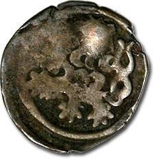 World Coins - Bohemia - Wenceslas IV, Hussite Period, 1420-1436 - Heller - Crude VG