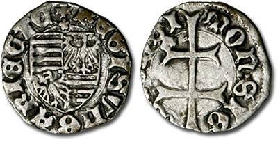 Ancient Coins - Hungary - Husz. 576 - Denar (MM: *), F