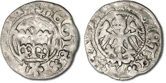 Ancient Coins - Poland - Kazimierz Jagiellonczyk (1446-1492) - Polgrosz, VG