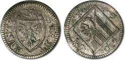 World Coins - Nürnberg - 4 Pfennig 1764 - VF+