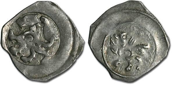 World Coins - Austria - Interregnum c.1230-1250 - Pfennig, Wiener Neustadt mint - crude VF