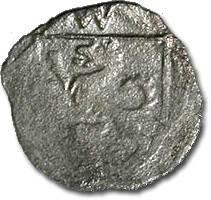 World Coins - Passau, Bishopric, Wigileus Fröschl von Marzoll, 1500-1517 - Uniface Pfennig undated - VF for type, cleaned, RARE
