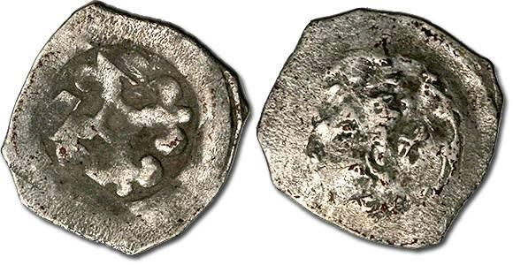 Ancient Coins - Austria - Albrecht III, 1358-1395 - Halbling?, Vienna mint - crude F