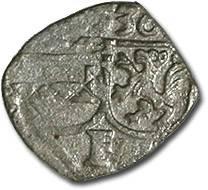 World Coins - Austria, Styria, Ferdinand I, 1521-1564 - Uniface Pfennig 1536 - F