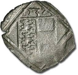 World Coins - Carinthia, Klagenfurt, Ferdinand I, 1521-1564 - Uniface Pfennig 1532 - F+