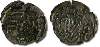 Ancient Coins - Hungary - Wladislavs II, 1490-1516 - Obolus (MM: K-?) - VG