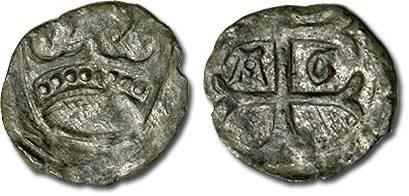 World Coins - Hungary - Husz. 586 - Quarting (MM A-G), crude VF