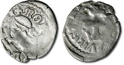 Ancient Coins - Hungary - Husz. 548 - Denar, VG