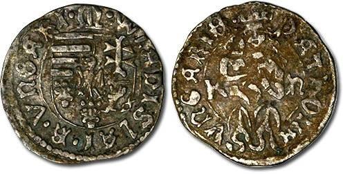 Ancient Coins - Hungary - Husz. 803 var. - Denar, F