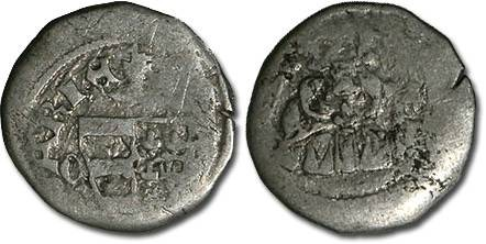World Coins - Hungary - Karl Robert, 1307-1342 - Denar (MM: C-?) - G