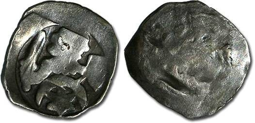 World Coins - Austria - Albrecht I, 1282-1298 - Pfennig, Enns mint - crude G