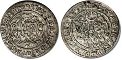 World Coins - Saxony - 1/24 Thaler (Groschen) 1623 - VF+