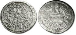 World Coins - Frankfurt - 1 Albus (8 Heller) 1656 - F