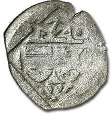 World Coins - Austria, Vienna (Wiener Hausgenossen) - Uniface Pfennig 1520 - VG, cleaned, RARE