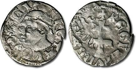Ancient Coins - Hungary - Husz. 547 - Denar, F