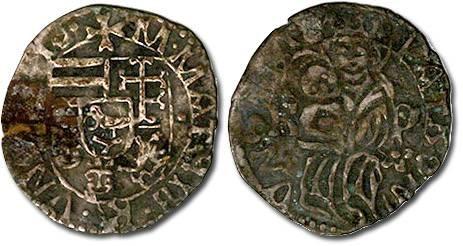 Ancient Coins - Hungary - Husz. 722 - Denar, F