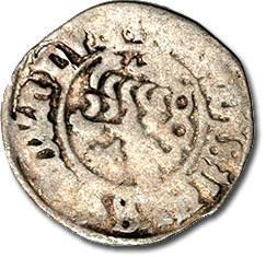 World Coins - Bohemia - Vladislav II, 1471-1516 - Weisspfennig - Crude VG