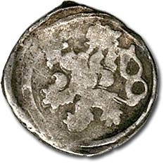 Ancient Coins - Bohemia - Wenceslas IV, Hussite Period, 1420-1436 - Heller - Crude F