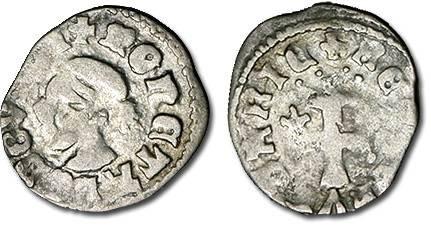 Ancient Coins - Hungary - Husz. 547 - Denar (MM *-*), F