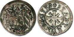 World Coins - Nürnberg - 1 Kreuzer 1759F - VF