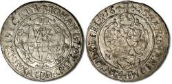 World Coins - Saxony - 1/24 Thaler (Groschen) 1625 HI - VF
